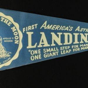 Other - 1969 Vintage Original Apollo 11 Pennant